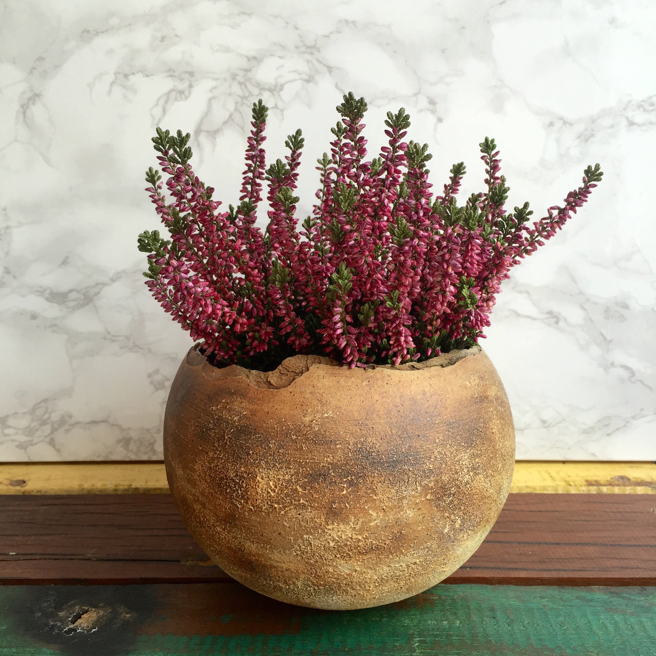 Stoneware Planter by King Fung