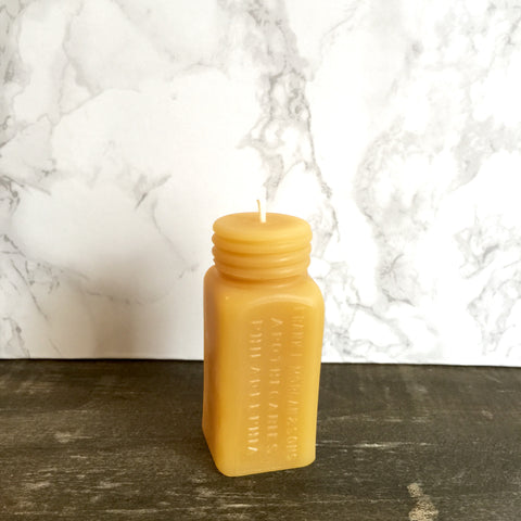 Apothecaries Beeswax Candle by Pollen Arts