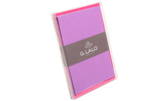 G. Lalo Assorted Colors 10 cards & envelopes C6 Set