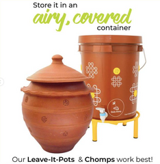 Daily Dump home composters for storing