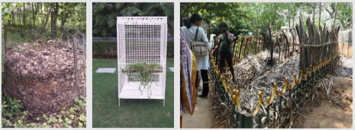 Copied versions of Daily Dump leaf composter designs