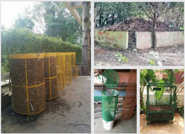 Copies of Daily Dump leaf composters