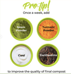 Daily Dump Protips for healthy compost