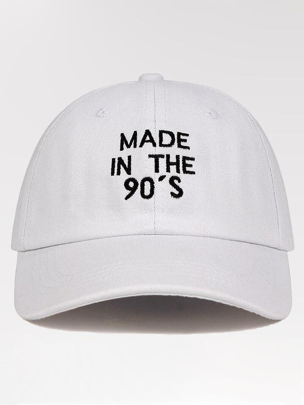 Casquette Streetwear 'Made in The 90's'