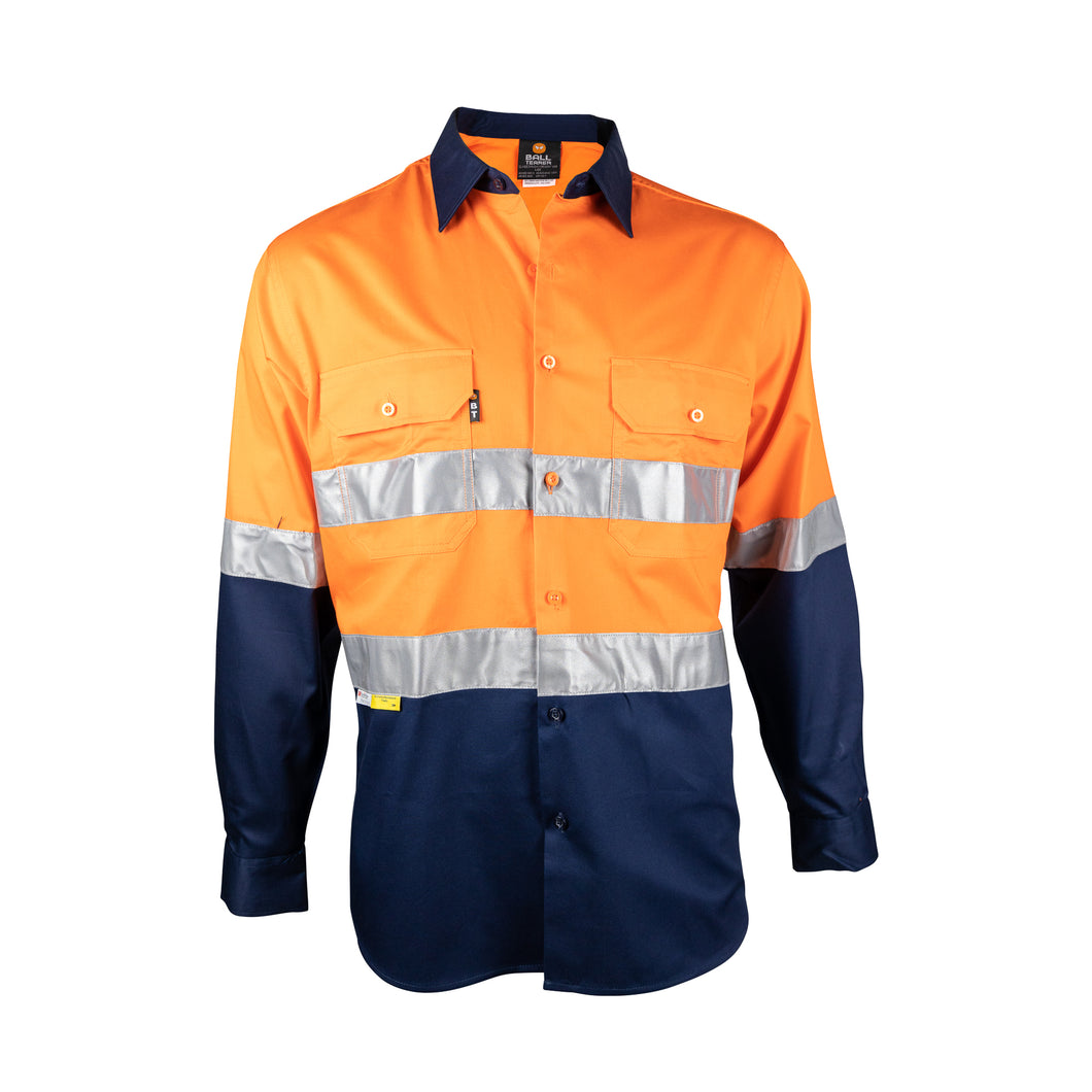 Light-Weight Long Sleeve Shirt with Reflective Tape (BT150) - Ball Tearer