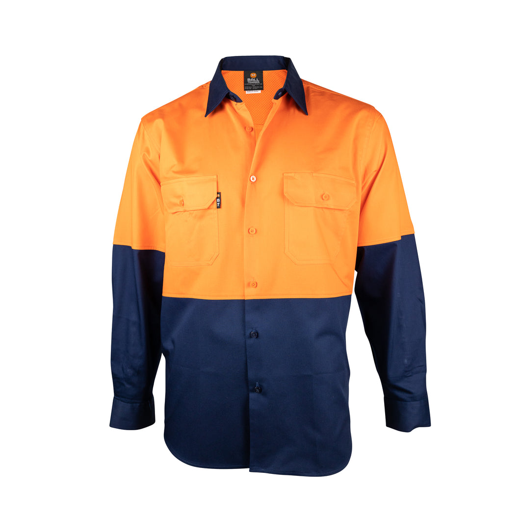 Long Sleeve Light Weight Shirt (BT350) - Ball Tearer