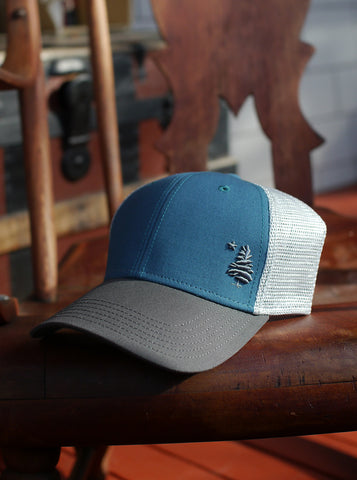 1901 Original Maine Trucker Hat Embroidered - Marine Blue