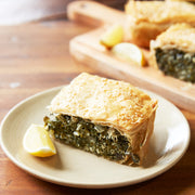 BRAISED GREENS & GOAT'S CHEESE PIE | OzHarvest | Wednesday Delivery