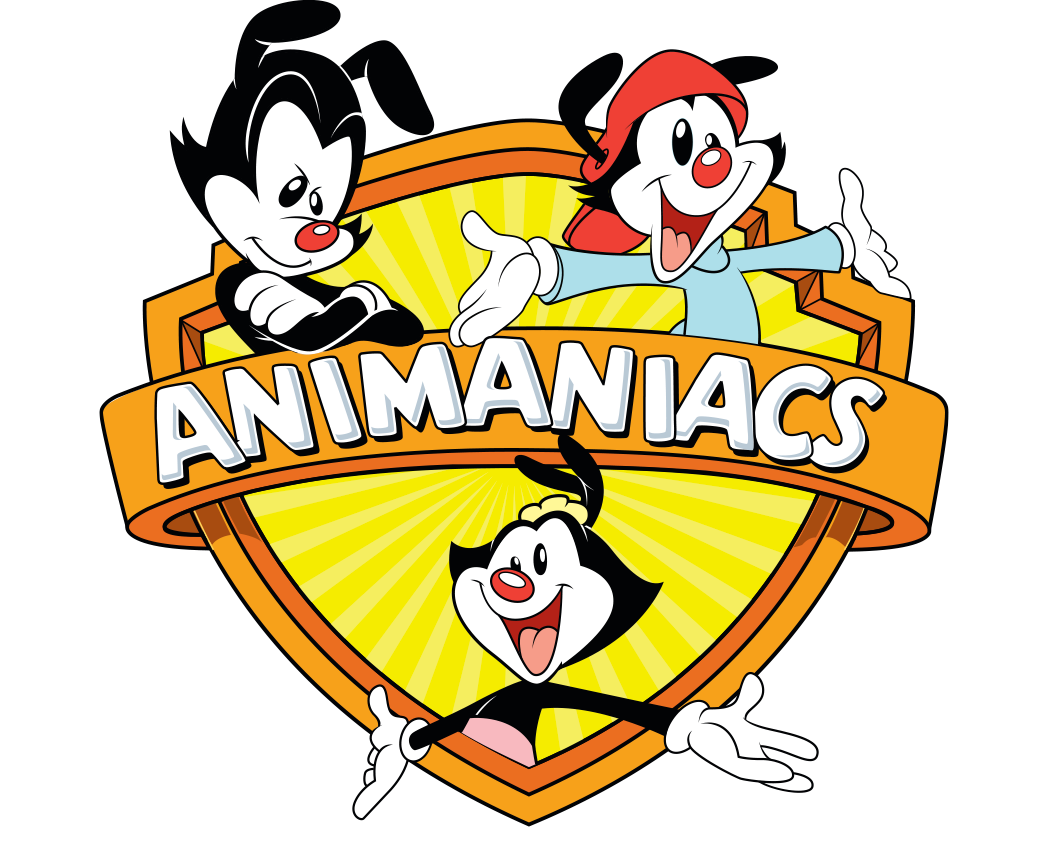 Animaniacs WB Logo Shield Short Sleeve T-Shirt
