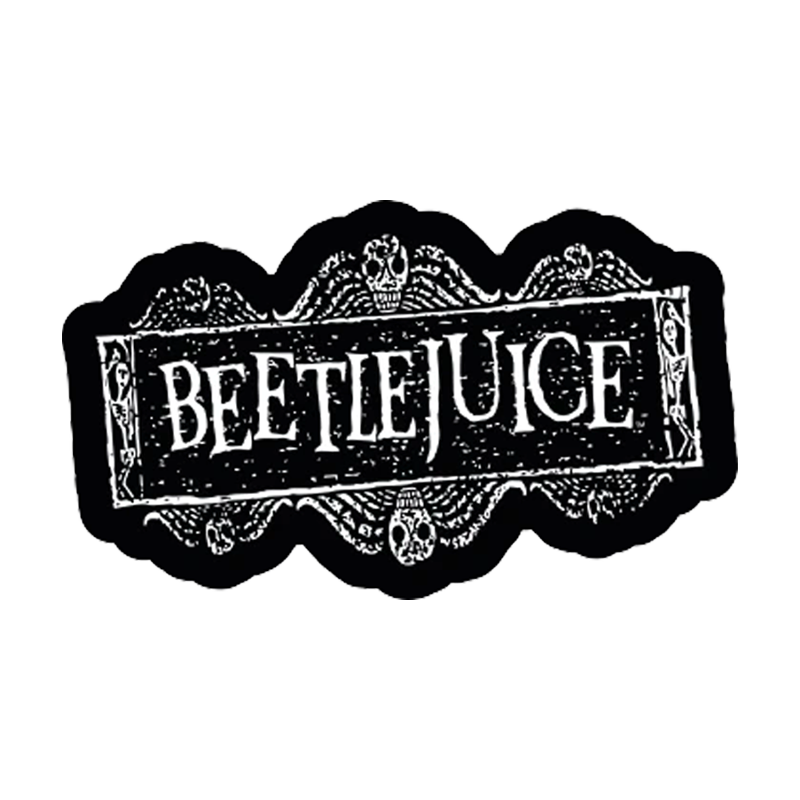 BeetlejuiceBeetlejuice Logo Adult Short Sleeve T-Shirt