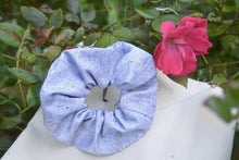 Load image into Gallery viewer, Large Silver Scrunchie - Fly Sew Lovely Boutique