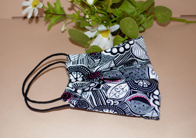 Print Face Mask - Fly Sew Lovely Boutique