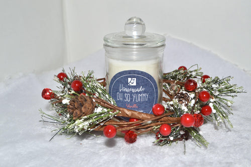 Vanilla Soy Candle - Oh So Yummy - Fly Sew Lovely Boutique
