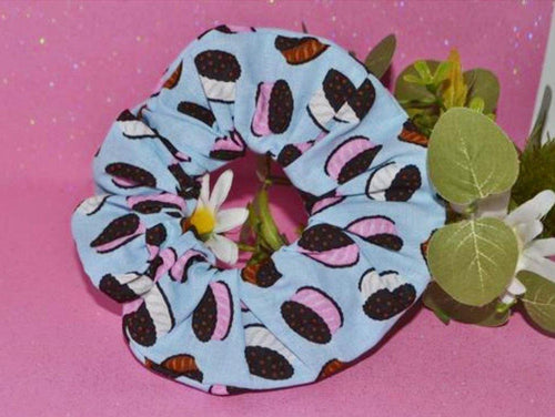 Oreo Cookie Scrunchie - Fly Sew Lovely Boutique