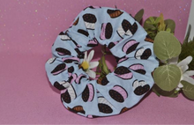 Load image into Gallery viewer, Oreo Cookie Scrunchie - Fly Sew Lovely Boutique