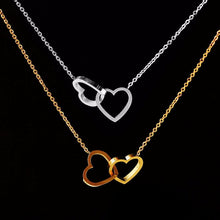 Load image into Gallery viewer, Hearts Entwined Necklace