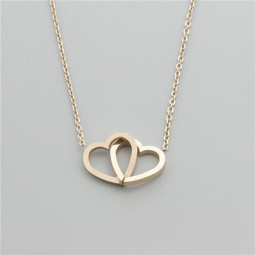 Hearts Entwined Necklace