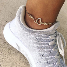 Load image into Gallery viewer, Hearts Entwined Anklets