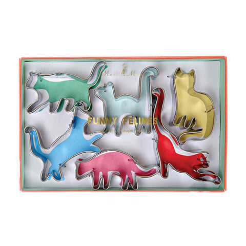 Funny Feline Cookie Cutters