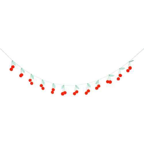 Cherry Knit Garland