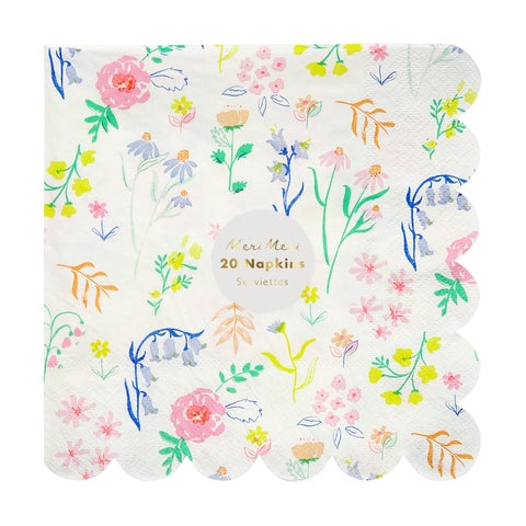 Wildflower Large Napkins