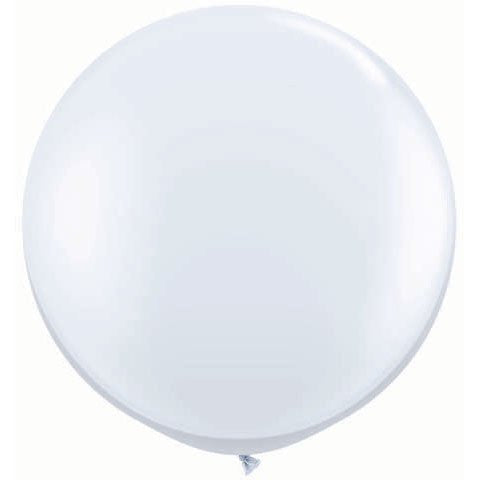White 3' Balloon