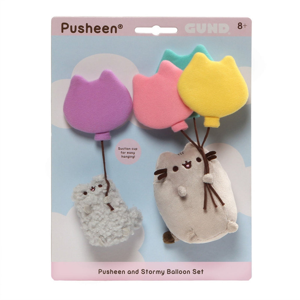 Pusheen and Stormy Suction Cup