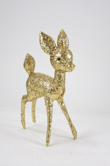 Gold Glitter  Prancer