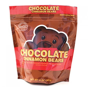 Chocolate Cinnamon Bears 14oz