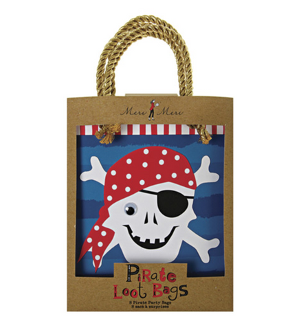 Ahoy There Pirate Loot Bags