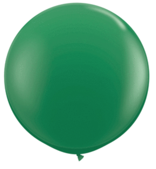 Dark Green 3' Balloon