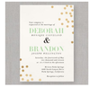 Gold Confetti Foil Cards