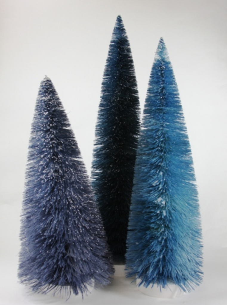 3 Blue Spectrum Large Trees