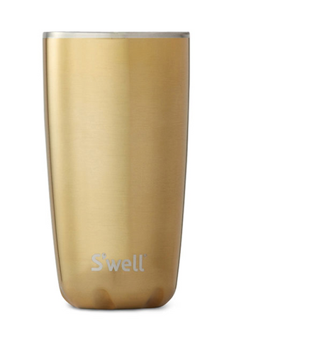 18oz S'well Gold Tumbler
