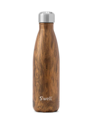 17oz Teakwood S'well Bottle
