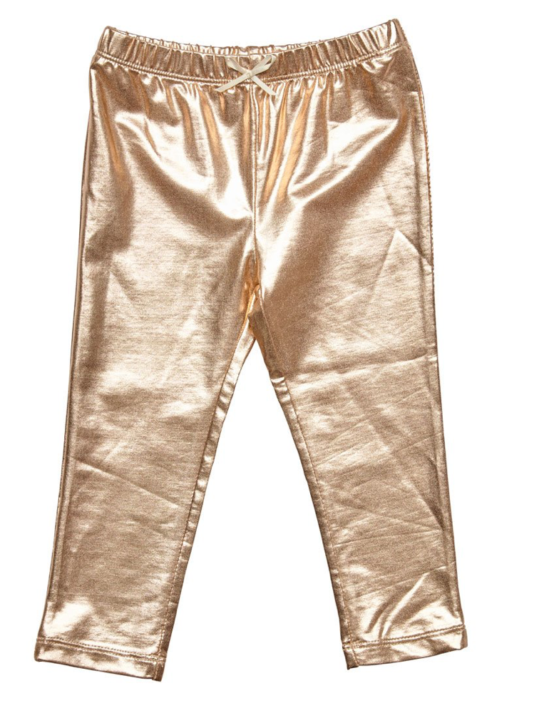 Infant Gold Leggings