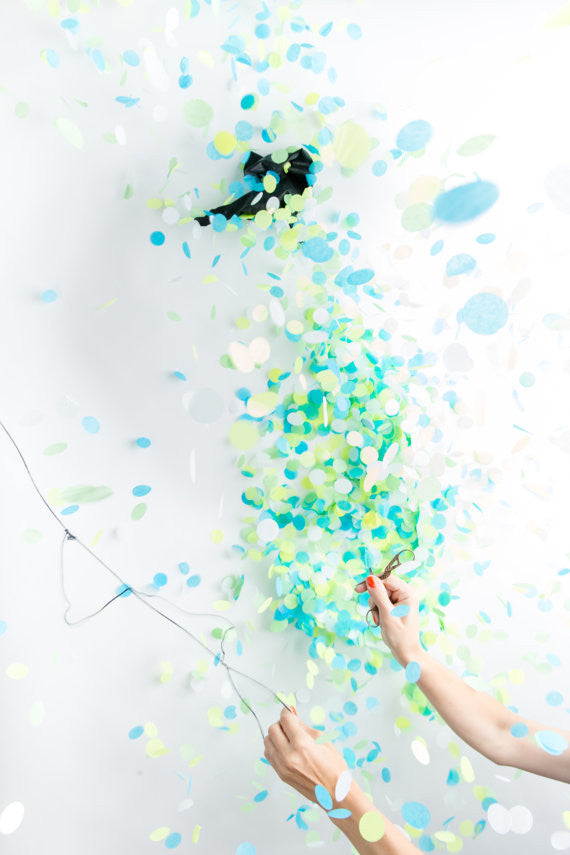 Giant Gender Reveal Confetti Balloon