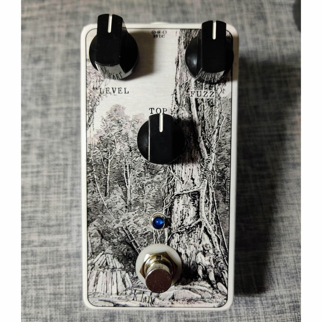 Ancient Black Ash - Endangered Fuzz pedal