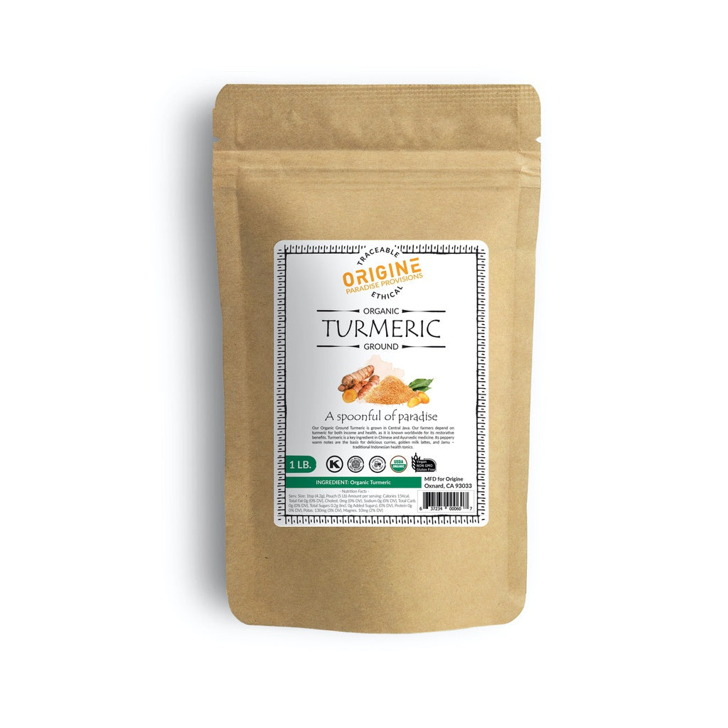 Organic Ground Turmeric 1lb