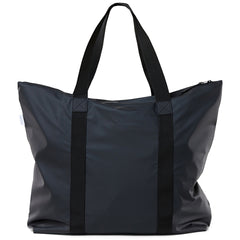 large waterproof tote, black tote bag