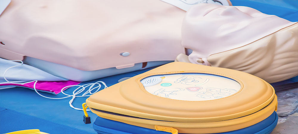 What does an AED do?