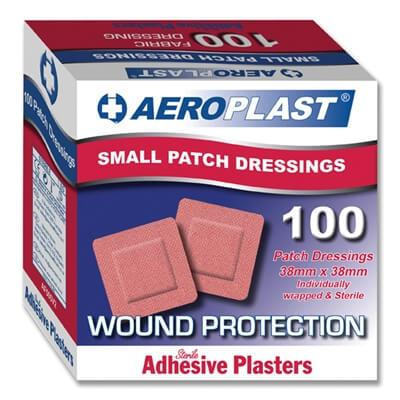 Aeroplast small patch plasters