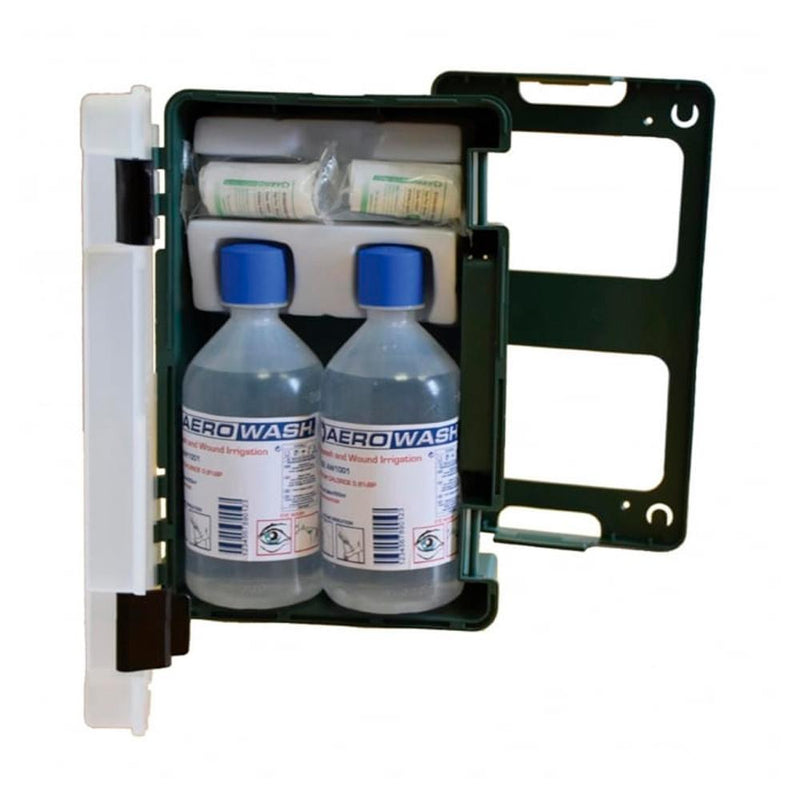 Eyewash Station Cabinet with 500ml Bottles | First Medical Training