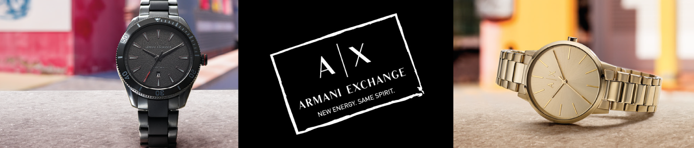 Armani Exchange Watches for Men and Women   Time Watch Specialists