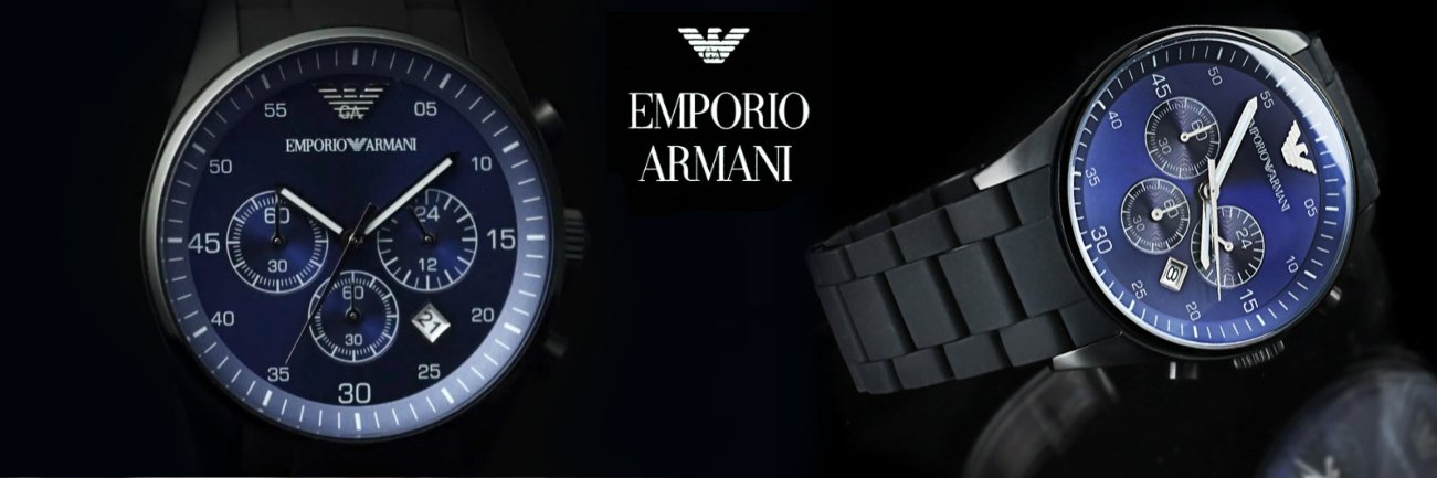 Emporio Armani Watches for Men and Women | Time Watch Specialists
