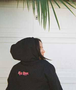 the 'I Hate Falling In Love' hoodie