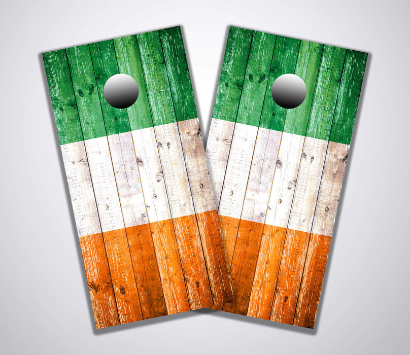 Irish Weathered Flag