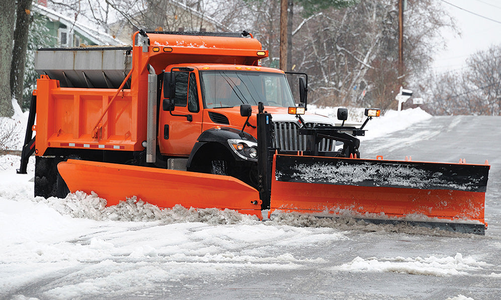 Use POR-15 2K Urethane on commercial and municipal plows