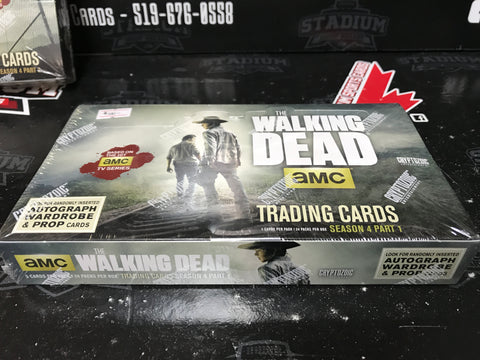 The Walking Dead Trading Cards Season 4, Part 1 - Cryptozoic 2016