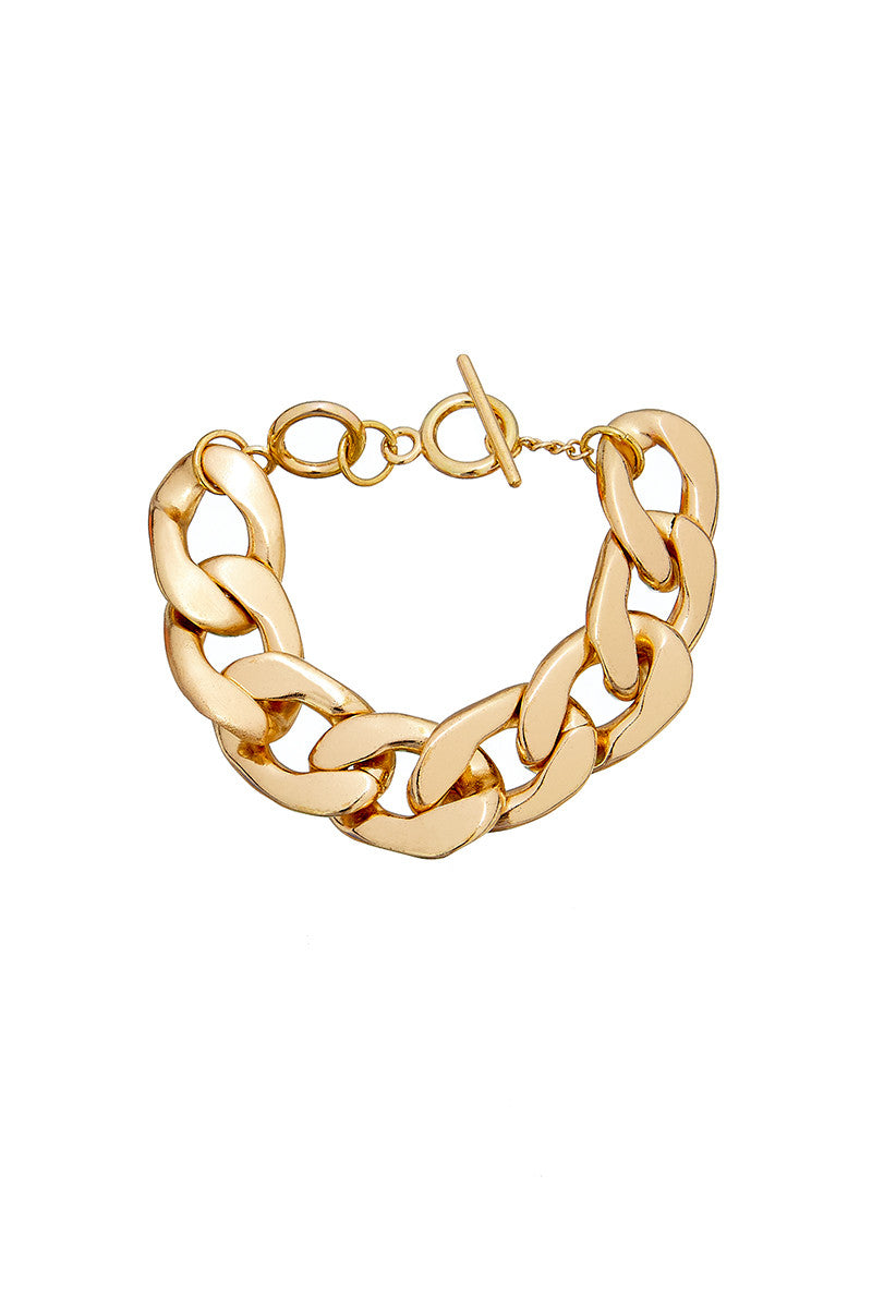 ** Not Quite Right Sale ** Thick Chain Bracelet